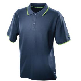 Festool Logo Navy Blue Polo-Shirt