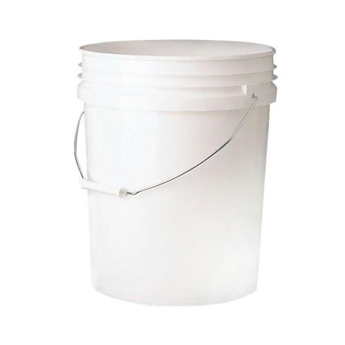 White 20 Litre Bucket