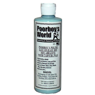 Poorboy's Polish with Carnauba (Blue) 16oz