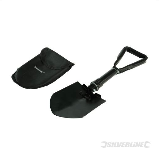 Silverline Folding Shovel
