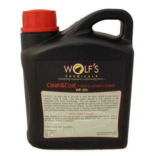 Wolf's Chemicals Nano Wheel Cleaner - 1 Litre