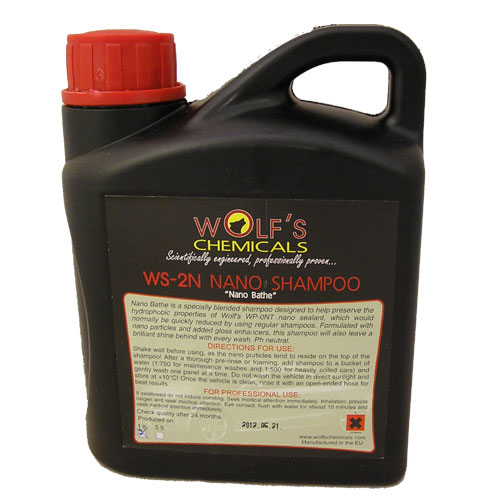 Wolf's Chemicals Nano Bathe Car Shampoo - 1 Litre