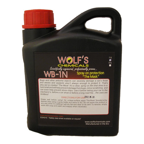 "Wolf's Chemicals ""The Mask"" Spray on Protection - 1 Litre"