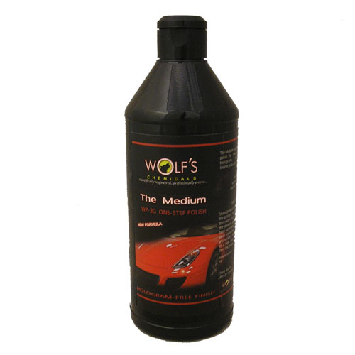 Wolf's Chemicals WP-3G One-Step Polish - 500ml