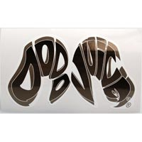 Dodo Juice Logo Window Clinger MONO - 68x125mm
